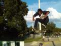 summer skateboard camp - jump practice