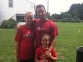 sisters at soccer camp