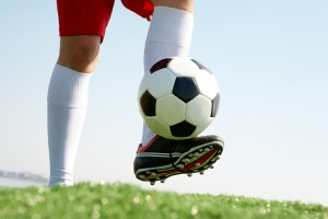 Playing soccer - year round soccer programs
